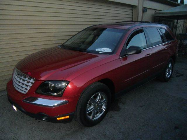 2004 CHRYSLER PACIFICA AWD 4DR WAGON red abs - 4-wheel adjustable pedals - power anti-theft sys
