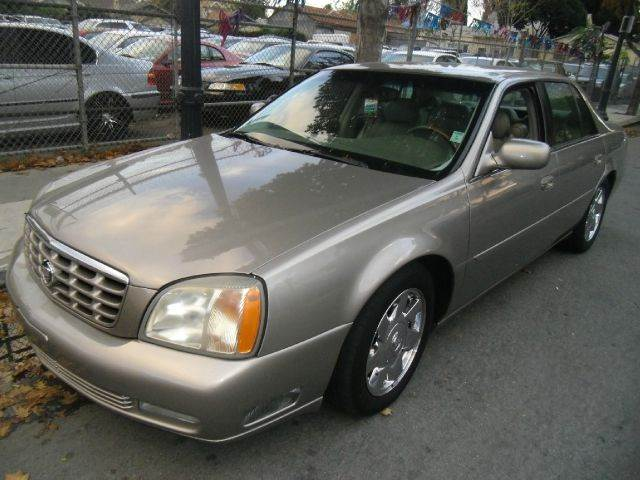 2002 CADILLAC DEVILLE DTS 4DR SEDAN gold abs - 4-wheel anti-theft system - alarm cassette cent