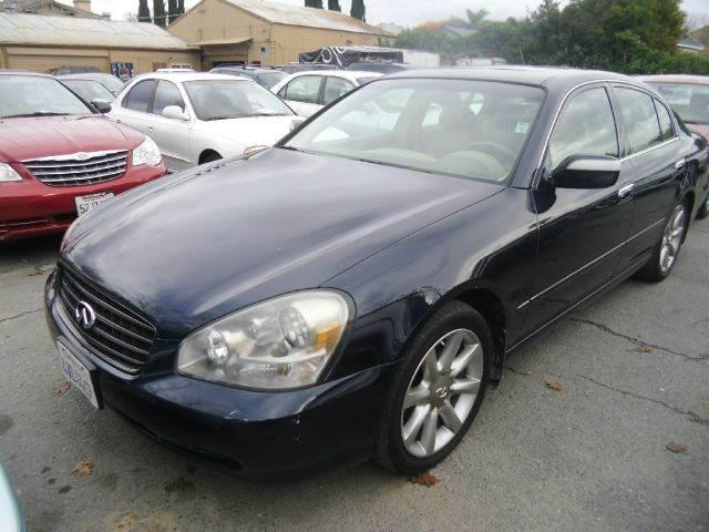 2002 Infiniti Q45 4dr Sedan In San Jose Ca Crows Auto Sales