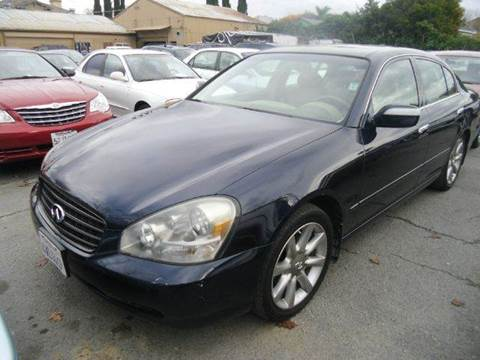 2002 Infiniti Q45 for sale at Crow`s Auto Sales in San Jose CA