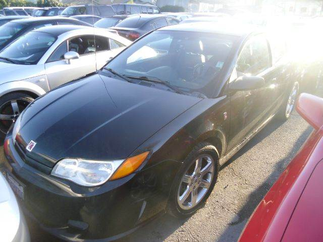 2004 SATURN ION RED LINE 4DR COUPE black abs - 4-wheel anti-theft system - alarm cupholders - f