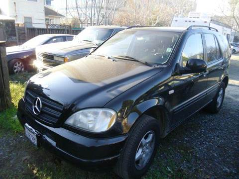 2001 Mercedes-Benz M-Class for sale at Crow`s Auto Sales in San Jose CA