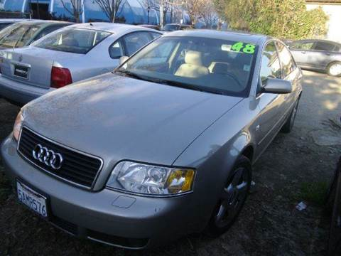 2003 Audi A6 for sale at Crow`s Auto Sales in San Jose CA
