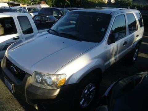 2007 Ford Escape for sale at Crow`s Auto Sales in San Jose CA