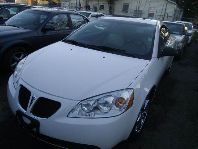 2007 PONTIAC G6 GT 2DR COUPE white 2-stage unlocking - remote abs - 4-wheel airbag deactivation
