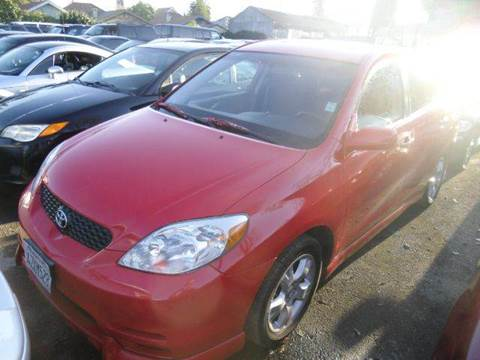 2003 Toyota Matrix for sale at Crow`s Auto Sales in San Jose CA