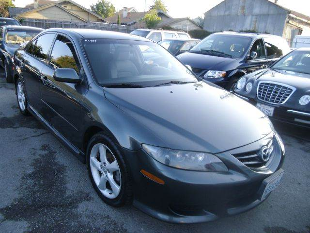 2005 MAZDA MAZDA6 I SPORT 4DR HATCHBACK gray abs - 4-wheel anti-theft system - alarm center con