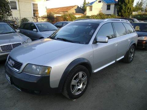 2001 Audi Allroad Quattro for sale at Crow`s Auto Sales in San Jose CA