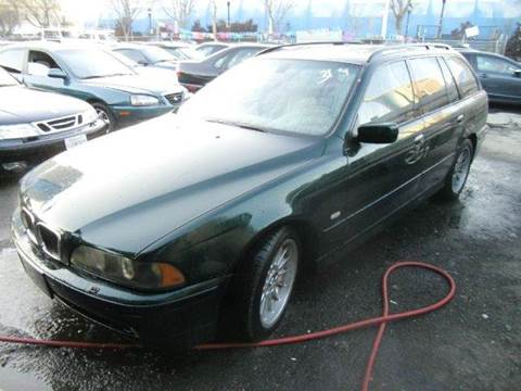 2002 BMW 5 Series for sale at Crow`s Auto Sales in San Jose CA