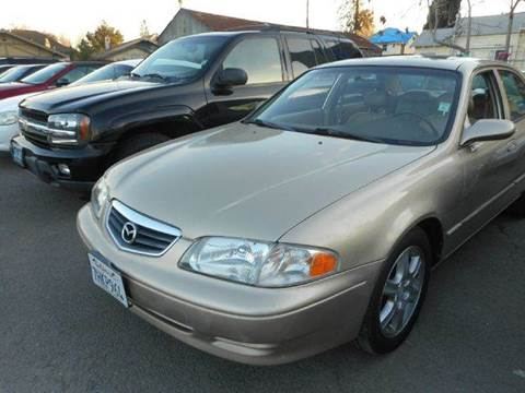 2001 Mazda 626 for sale at Crow`s Auto Sales in San Jose CA