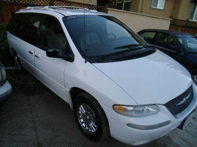 1999 CHRYSLER TOWN AND COUNTRY LIMITED 4DR PASSENGER VAN EXTEND white abs - 4-wheel anti-theft s