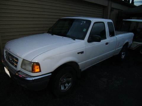 2001 Ford Ranger for sale at Crow`s Auto Sales in San Jose CA