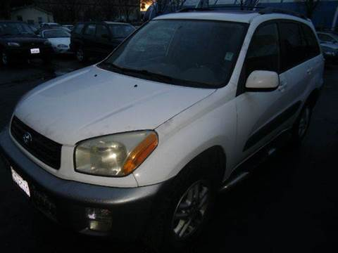 2001 Toyota RAV4 for sale at Crow`s Auto Sales in San Jose CA