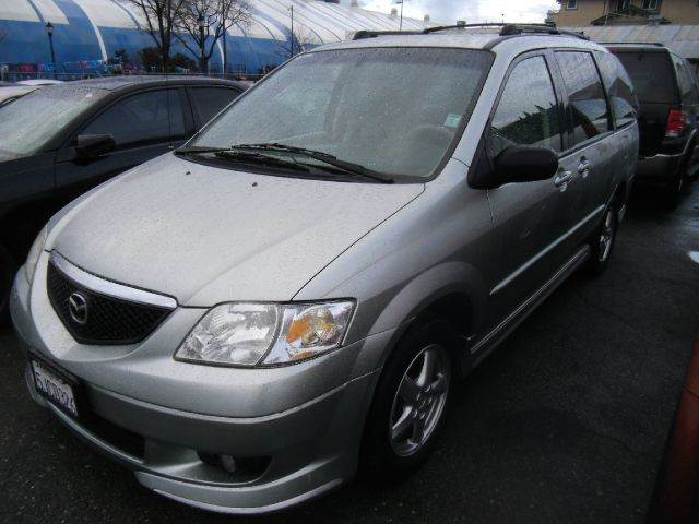 2003 MAZDA MPV LX 4DR MINIVAN green abs - 4-wheel captain chairs - 4 center console clock cru