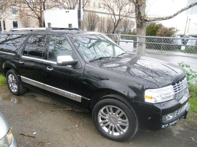 2007 LINCOLN NAVIGATOR L LUXURY 4DR SUV 4WD black 2-stage unlocking - remote 4wd type - on deman