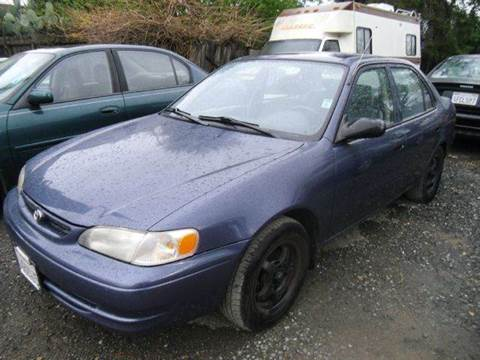 2000 Toyota Corolla for sale at Crow`s Auto Sales in San Jose CA
