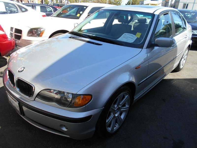 2003 BMW 3 SERIES 325I 4DR SEDAN silver abs - 4-wheel center console cruise control daytime ru