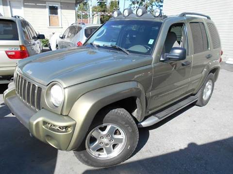 2002 Jeep Liberty for sale at Crow`s Auto Sales in San Jose CA