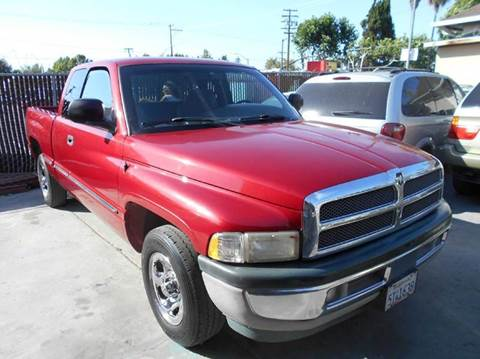 1998 Dodge Ram Pickup 1500 for sale at Crow`s Auto Sales in San Jose CA