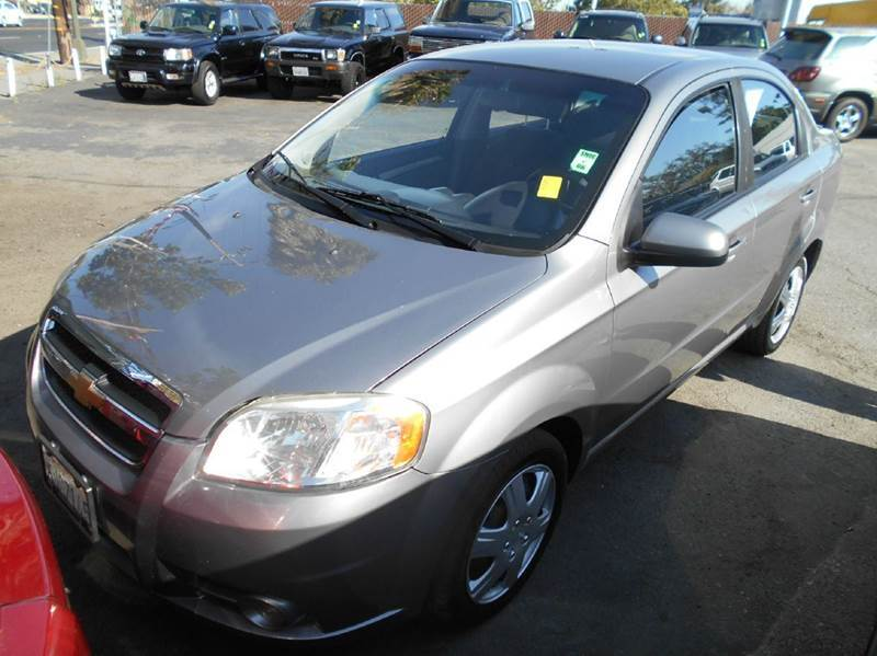 2010 CHEVROLET AVEO LT 4DR SEDAN W2LT gray air filtration airbag deactivation - occupant sensin