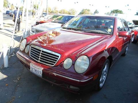 2001 Mercedes-Benz E-Class for sale at Crow`s Auto Sales in San Jose CA