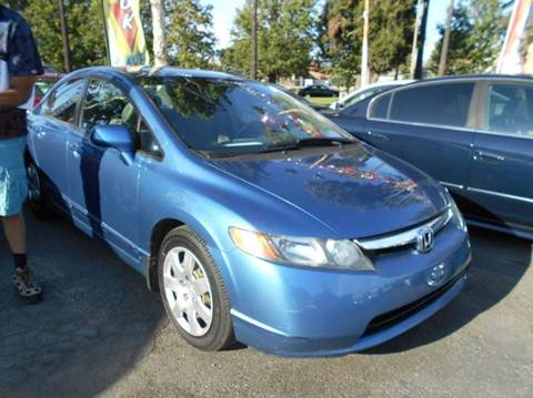 2006 Honda Civic for sale at Crow`s Auto Sales in San Jose CA