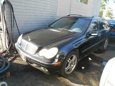 2003 Mercedes-Benz C-Class for sale at Crow`s Auto Sales in San Jose CA