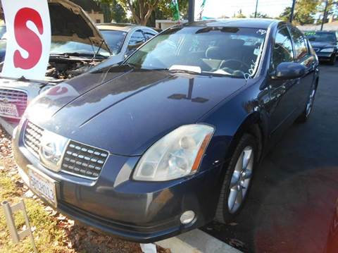 2006 Nissan Maxima for sale at Crow`s Auto Sales in San Jose CA