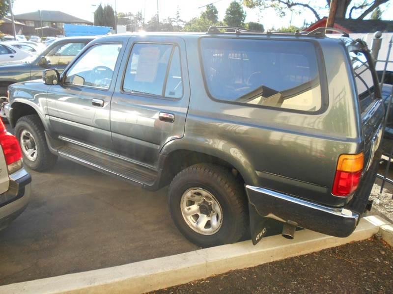 1990 toyota 4runner 4dr sr5 v6 4wd suv in san jose ca for 1990 toyota 4runner rear window motor