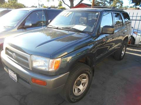 1998 Toyota 4Runner for sale at Crow`s Auto Sales in San Jose CA