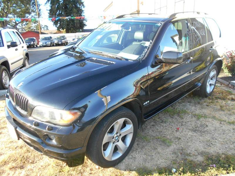 2004 BMW X5 48IS AWD 4DR SUV black abs - 4-wheel air suspension - rear anti-theft system - ala
