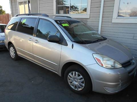 2005 Toyota Sienna for sale at Crow`s Auto Sales in San Jose CA