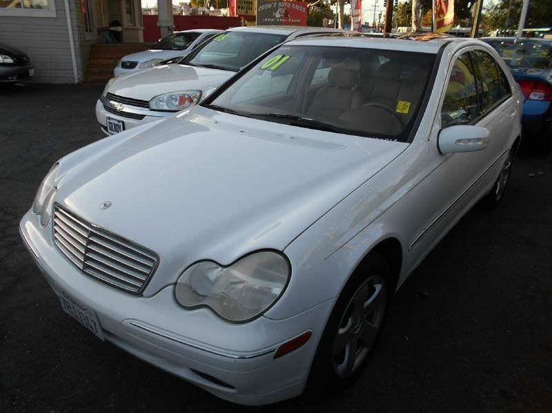 2001 Mercedes-Benz C-Class for sale at Crow`s Auto Sales in San Jose CA