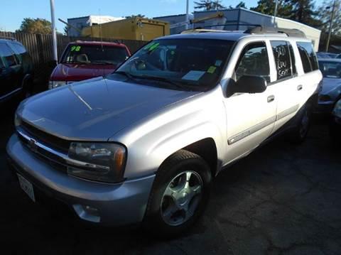 2004 Chevrolet TrailBlazer EXT for sale at Crow`s Auto Sales in San Jose CA