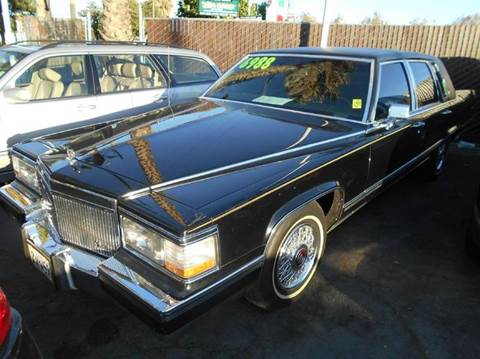 1991 Cadillac Brougham for sale at Crow`s Auto Sales in San Jose CA