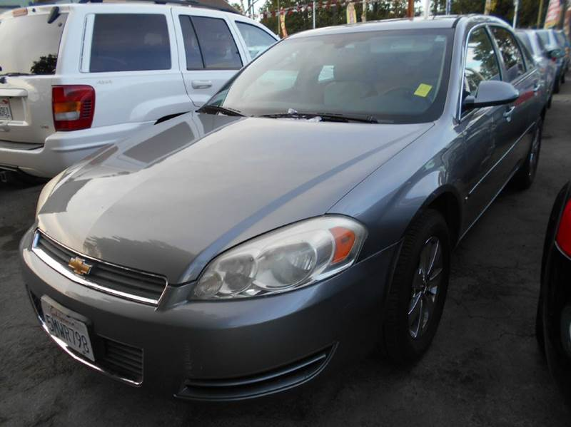 2006 CHEVROLET IMPALA LS 4DR SEDAN W ROOF RAIL CURTAI gray air filtration antenna type anti-th