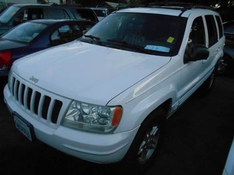 1999 Jeep Grand Cherokee for sale at Crow`s Auto Sales in San Jose CA