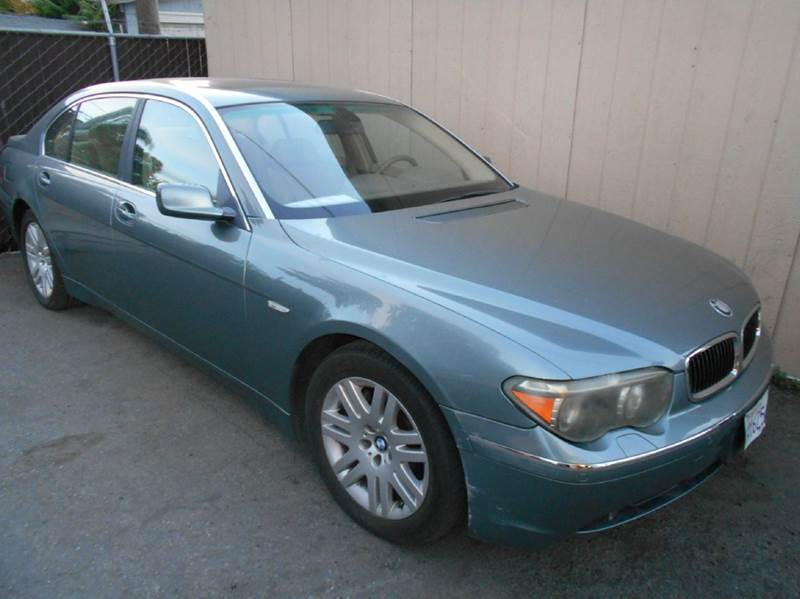 2002 bmw 7 series 745li 4dr sedan in san jose ca crow s auto sales. Black Bedroom Furniture Sets. Home Design Ideas