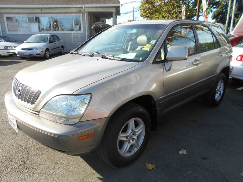 2001 LEXUS RX 300 BASE AWD 4DR SUV gold abs - 4-wheel anti-theft system - alarm cassette clock