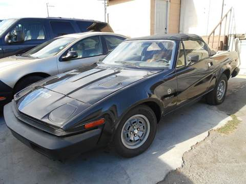 1980 Triumph TR8 for sale at Crow`s Auto Sales in San Jose CA