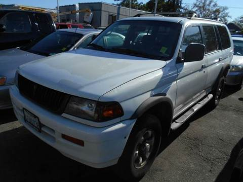 1999 Mitsubishi Montero Sport for sale at Crow`s Auto Sales in San Jose CA