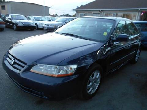2002 Honda Accord for sale at Crow`s Auto Sales in San Jose CA