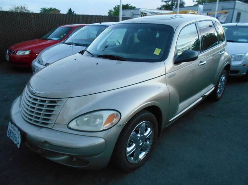 2003 CHRYSLER PT CRUISER LIMITED EDITION 4DR WAGON gold anti-theft system - alarm cassette cent
