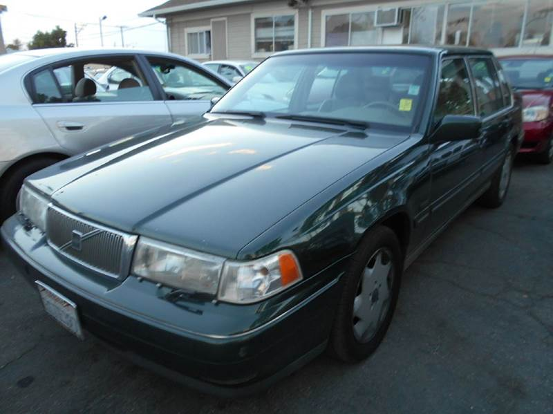 1996 VOLVO 960 BASE 4DR SEDAN green abs - 4-wheel antenna type - power anti-theft system - alar
