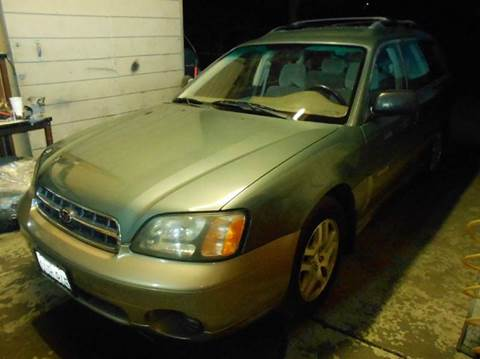 2002 Subaru Outback for sale at Crow`s Auto Sales in San Jose CA