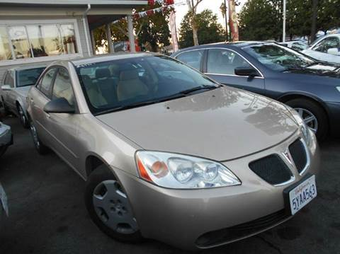 2007 Pontiac G6 for sale at Crow`s Auto Sales in San Jose CA