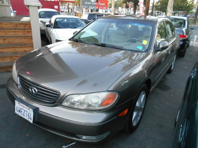 2002 INFINITI I35 BASE 4DR SEDAN gray 17 inch wheels abs - 4-wheel anti-theft system - alarm c