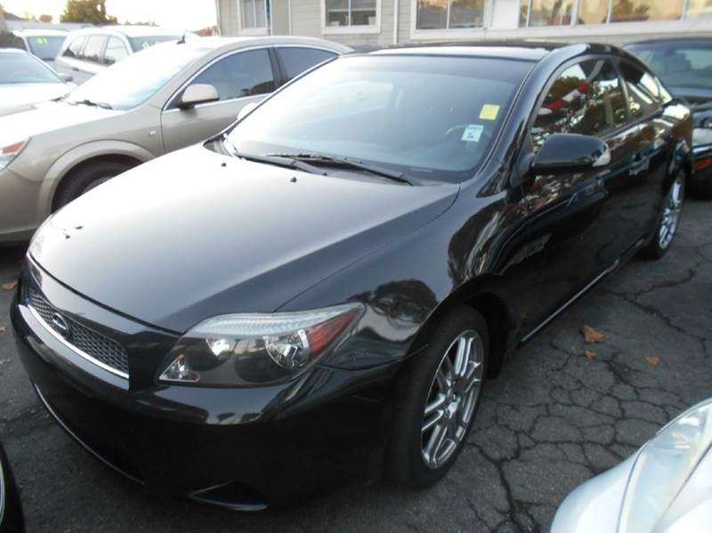 2005 SCION TC BASE 2DR HATCHBACK black abs - 4-wheel alloy wheels center console - front consol