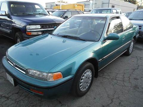 1993 Honda Accord for sale at Crow`s Auto Sales in San Jose CA