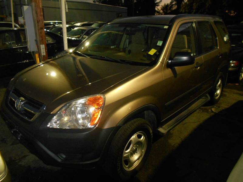 2004 HONDA CR-V LX AWD 4DR SUV W SIDE AIRBAGS gold cassette clock cruise control exterior ent